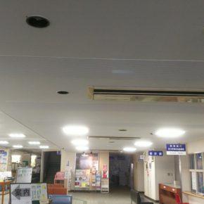 渋川市役所本庁舎天井塗装工事完了